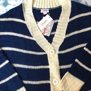 LuLaRoe Lucille Small NWT Cardigan Stripe